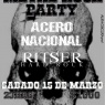 15 de Marzo: Metal Rock Party en Peñaflor