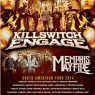 19 de Agosto: Killswitch Engage y Memphis May Fire en Chile