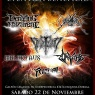 22 de Noviembre: Temple Of War en Santiago - Evento a Beneficio