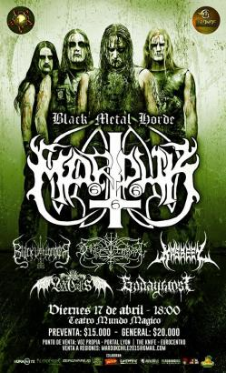 Marduk en Chile - 17 de Abril